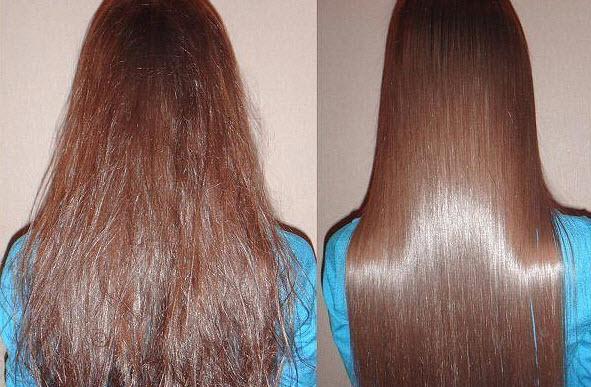 Домашнее ламинирование волос при помощи желатина