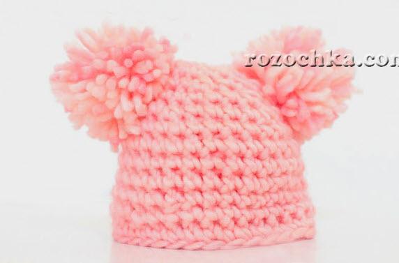 Вяжем шапочку ребенку