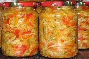 Капустный салат без тепловой обработки