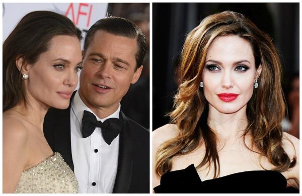 Жены Брэда Питта: Анджелина Джоли