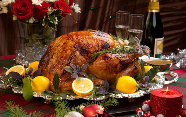Блюда из индейки на Новый год и Рождество