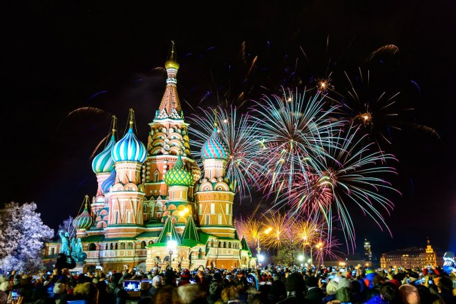 Мероприятия в Москве на новогодние праздники 2017