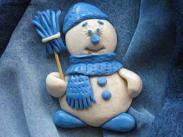 Новогодние игрушки из соленого теста своими руками