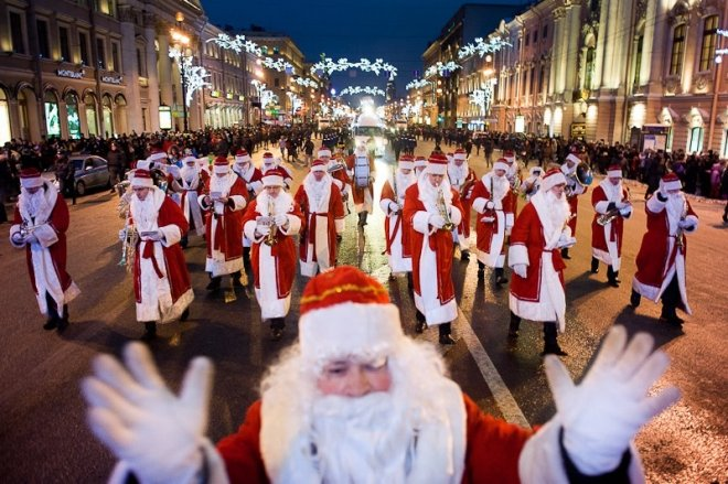 Мероприятия на Рождество в Санкт-Петербурге 2017