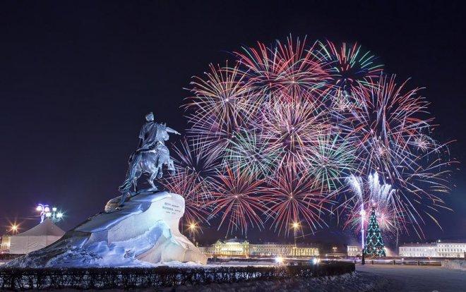 Мероприятия на новогодние каникулы в Санкт-Петербурге 2017