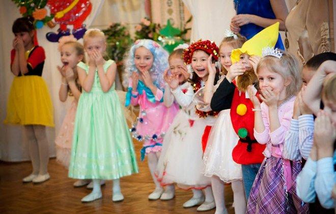 Сценарий Нового года для средней группы детского сада