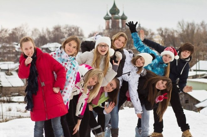 Мероприятия на новогодние каникулы в Москве