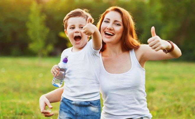 Как стать счастливой одной с ребенком