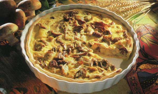 Как приготовить грибной пирог рецепты с фото
