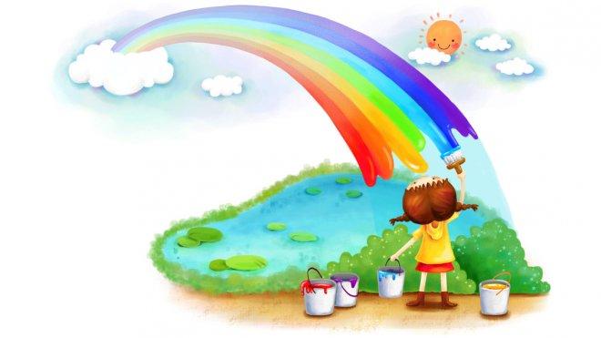 снится радуга