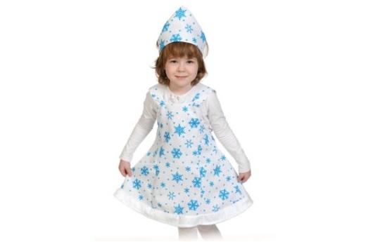 костюи снежинка