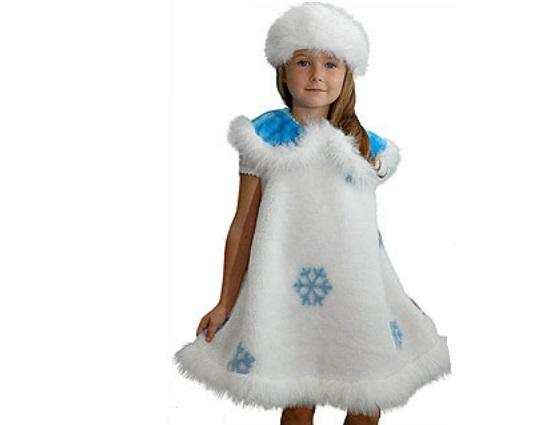 костюм снежинки для девочки на новый год