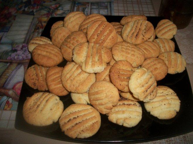 Простое печенье на скорую руку без масла