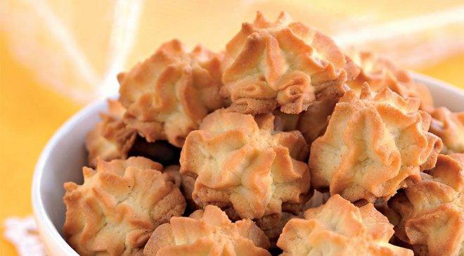 Простое печенье на майонезе
