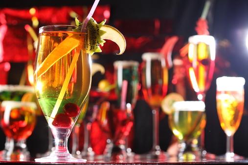 крепкие новогодние напитки