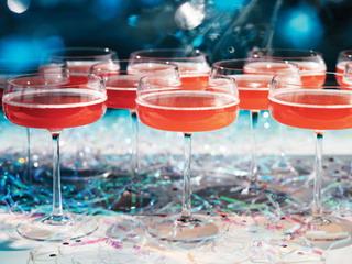 новогодние праздничные коктейли