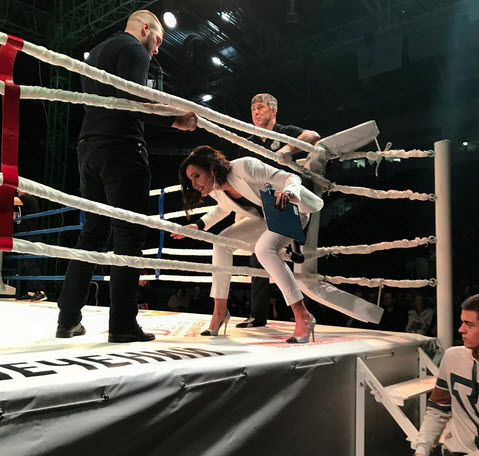 турнир по MMA в Пензе