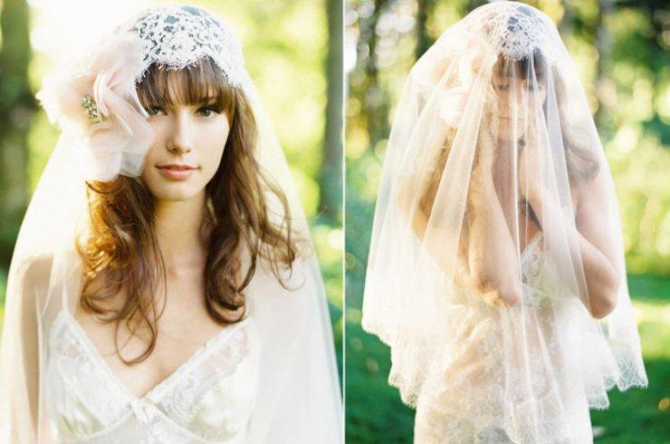 Фату для невесты своими руками 421