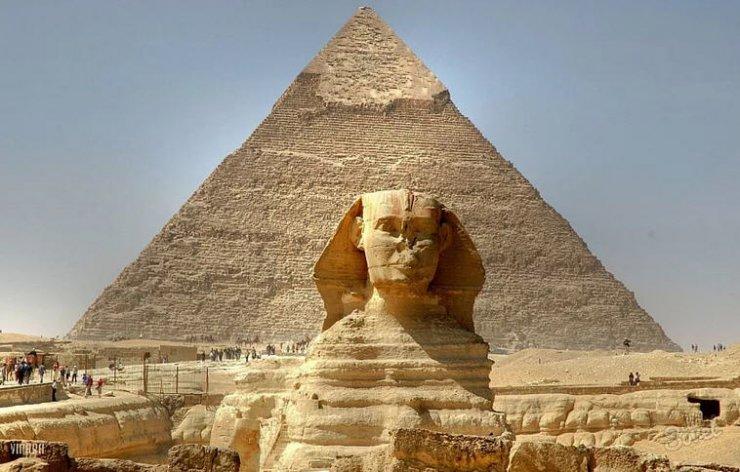 Сфинкс - Египетские пирамиды Гизы