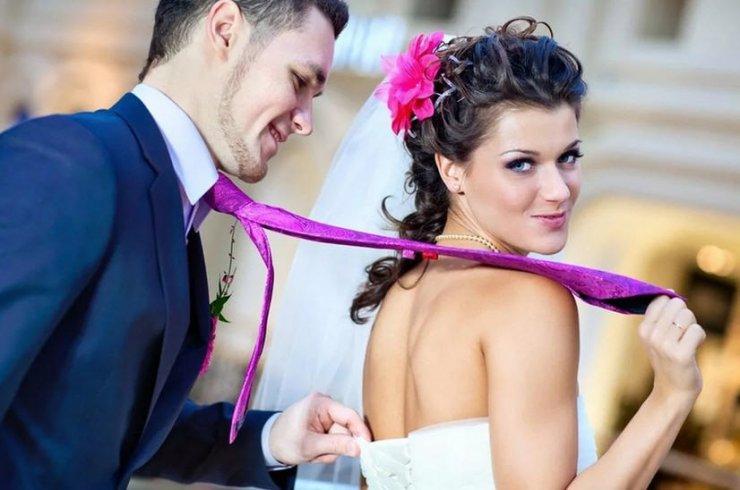 Отношения влюбленных - до свадьбы и после нее