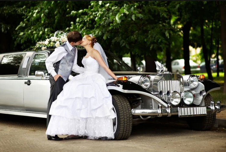 Заказ свадебного кортежа