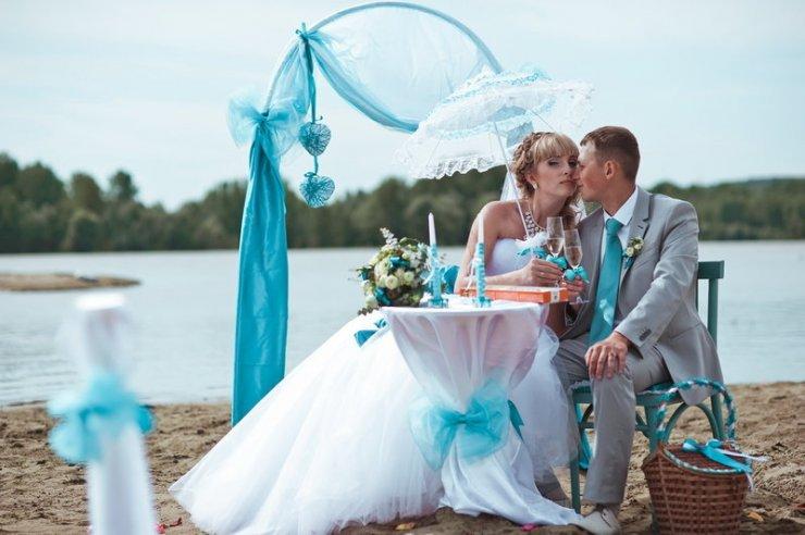 Бирюзовая свадьба - доказательство крепкой семьи