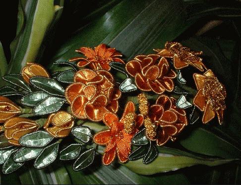 цветочное дерево  ганутель
