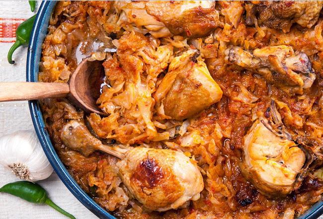 Как приготовить тушеную капусту: рецепты
