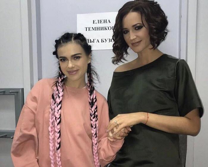 Елена Темникова призналась, что Ольга Бузова поет ее песни