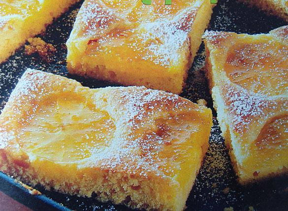 Веганский апельсиновый бисквит на кипятке
