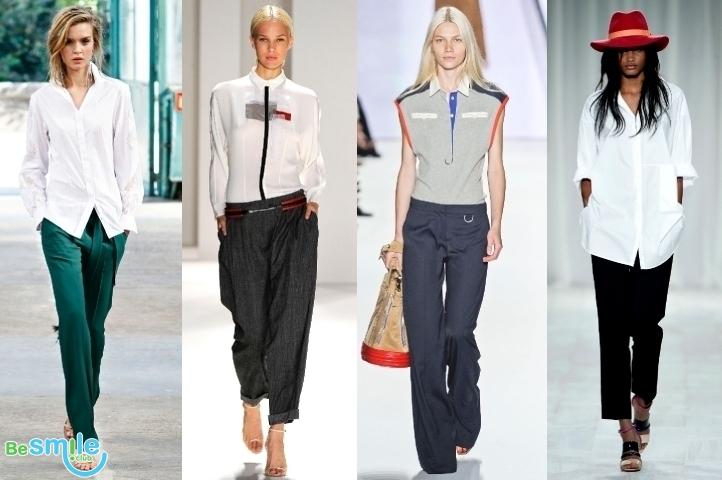Мужской стиль в женском гардеробе