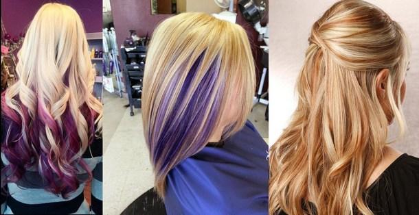 Модные цвета волос 2018 года