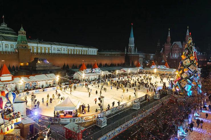 Когда открывается каток на Красной площади в 2017-2018