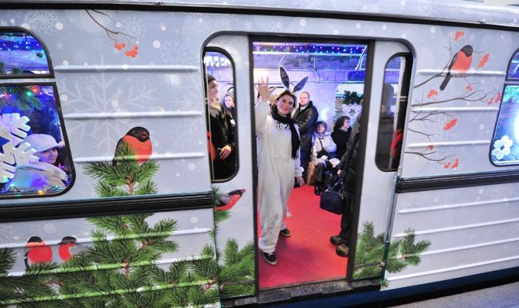 Как будет работать транспорт в новогоднюю ночь 2018 в Москве