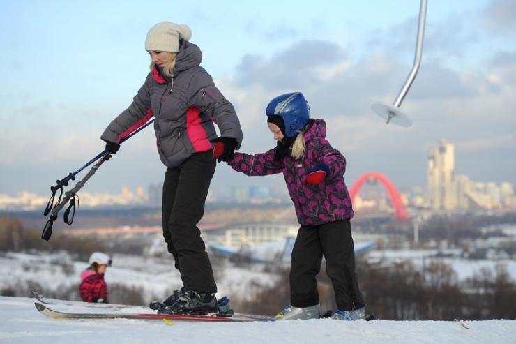 Где покататься на лыжах в Москве зимой 2017-2018