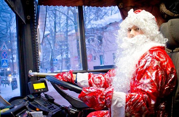 Работа транспорта в новый год 2018 в Санкт-Петербурге