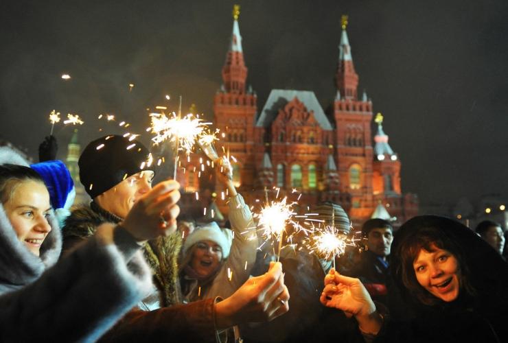 Куда сходить в Москве 1 января 2018 года