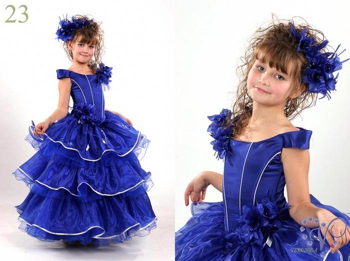 Как украсить платье девочке на Новый год