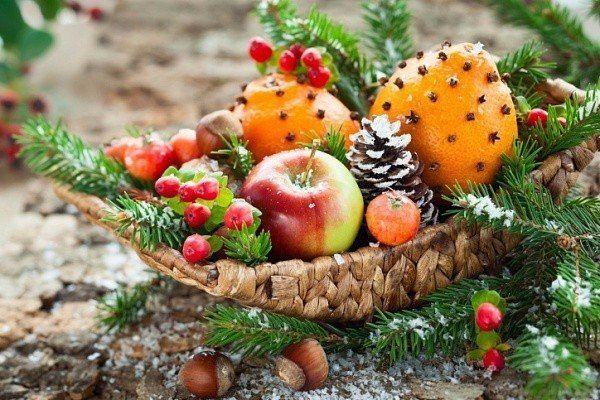 Какие фрукты должны быть на новогоднем столе 2018
