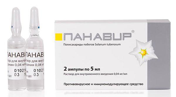 «Панавир» – препарат на основе растительных компонентов