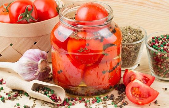 Сладкий маринад для помидоров на 1 литр воды