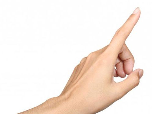 К чему ломается ноготь на указательном пальце