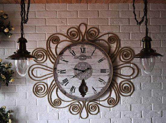 часы над дверью