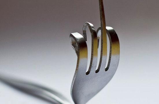 Примета «сломалась вилка»