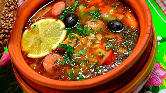 Солянка по-абхазски: классический рецепт
