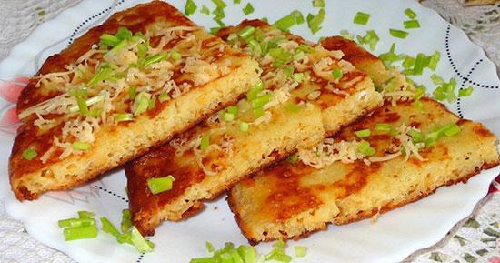 хачапури ленивые с сыром