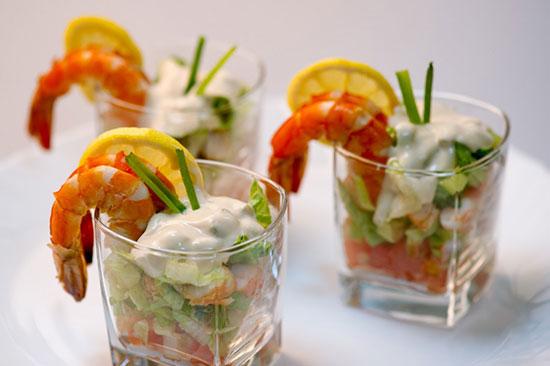 Рецепты коктейльных салатов на праздничный стол