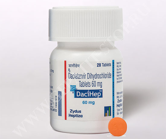 Dacihep: характеристики и достоинства дженерика  для терапии ВГС четырех генотипов