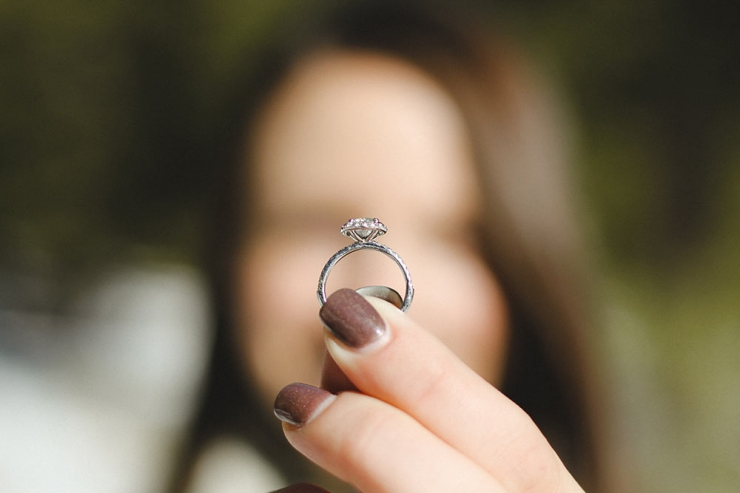 Примета  - кольцо слетело с пальца