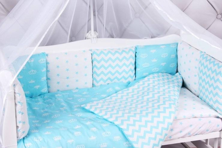 Как выбрать комплект постельного белья для новорожденных?